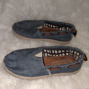 Toms Bimini's Denim Girls flats